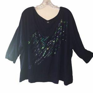 3/$21  Lane Bryant Long Sleeve Shirt